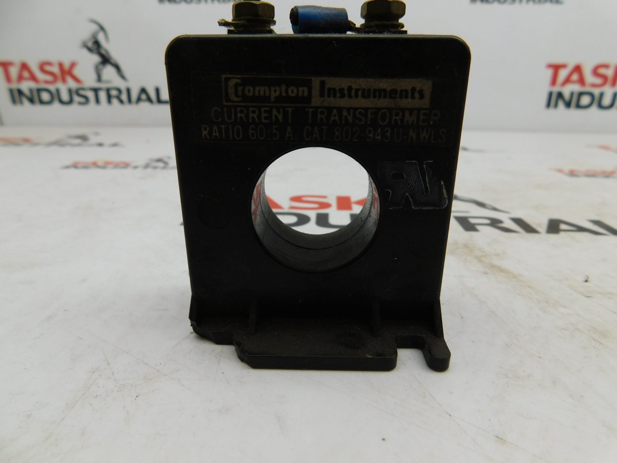 Crompton Instruments CAT No. 802-943U-NWLS Current Transformer Ratio 60:5