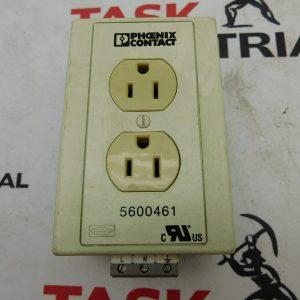 Phoenix Contact 5600461 Rail Mount Receptable Outlet