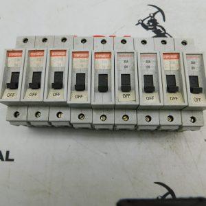 StopCircuit GMU 30U J 240/415VAC 48VDC Circuit Breaker Lot of 3
