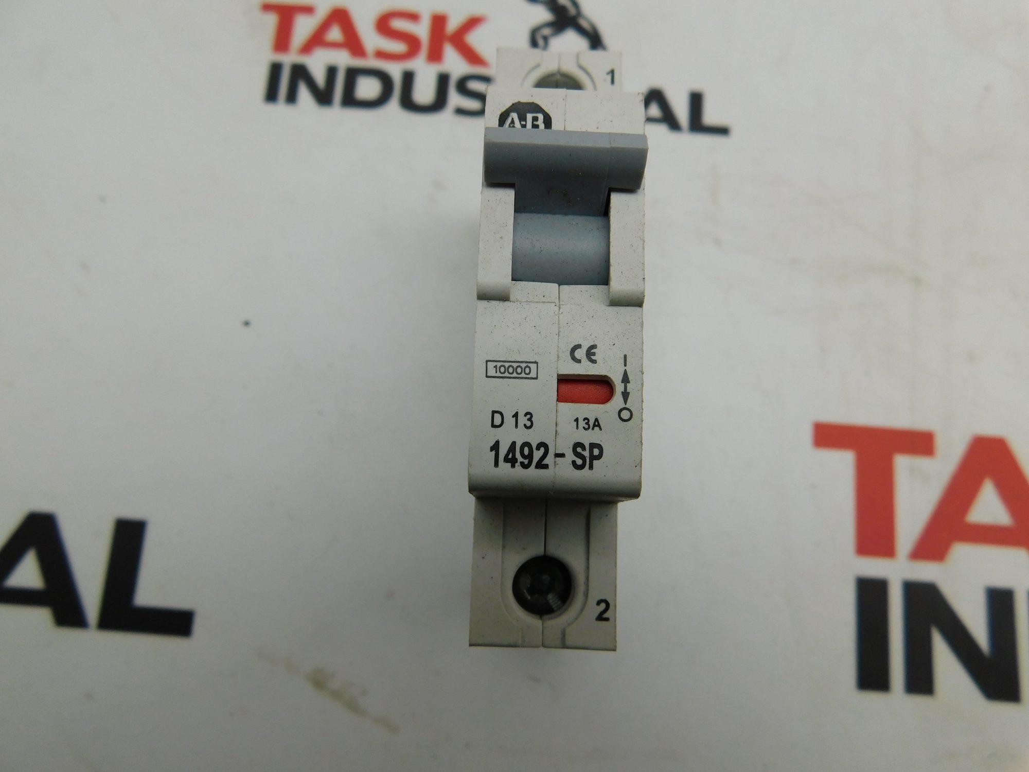 Allen-Bradley CAT No. 1492-SP1D130 Series C 240/415VAC 1 Pole Circuit Breaker