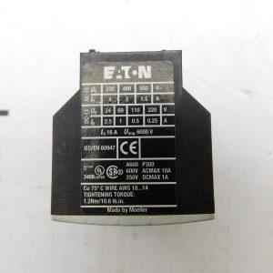 Eaton XTCEXFAC11 Contact