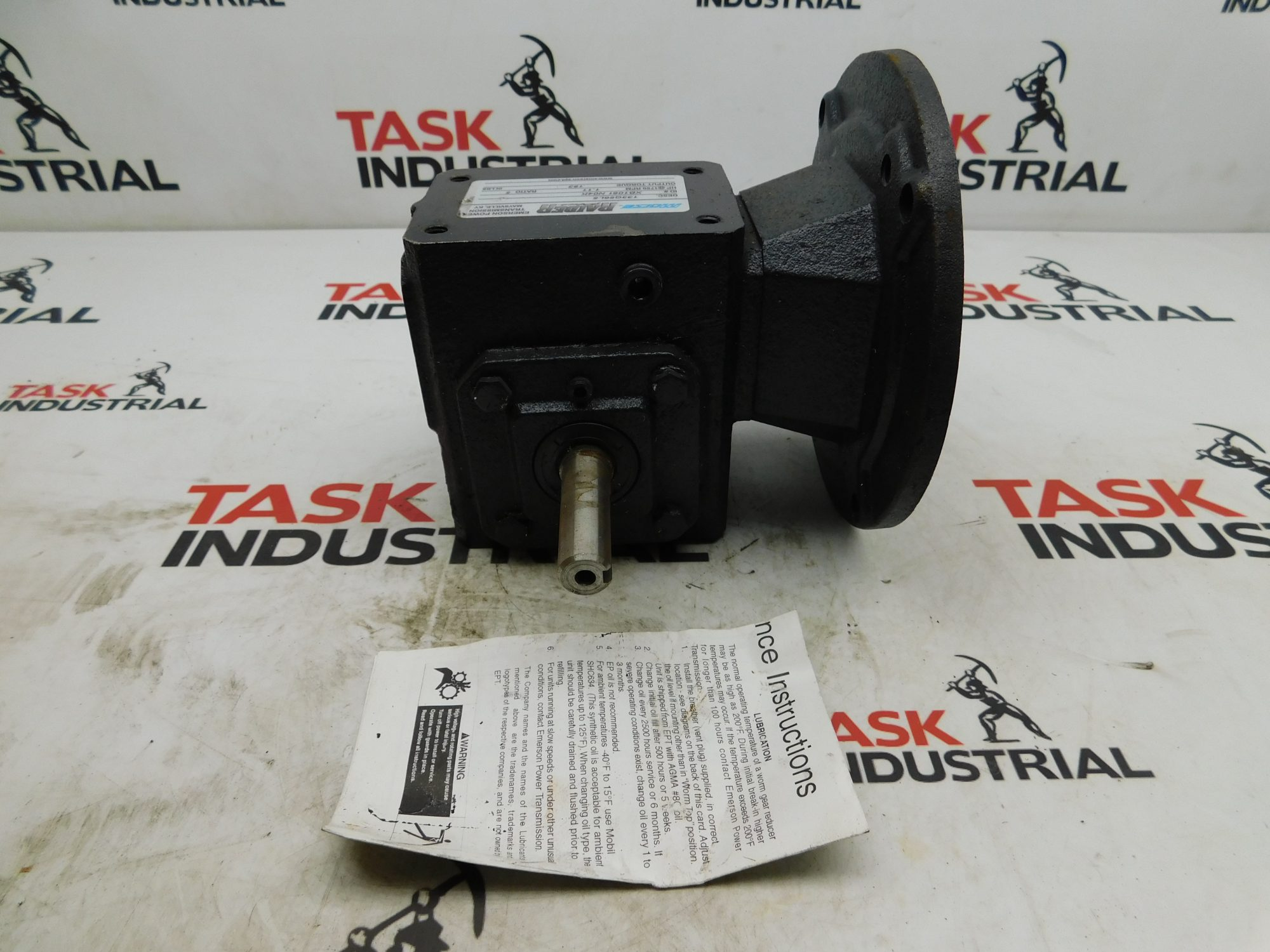 Morse Raider Plus 133Q56L5 1750RPM Ratio: 5 Output Torque: 183