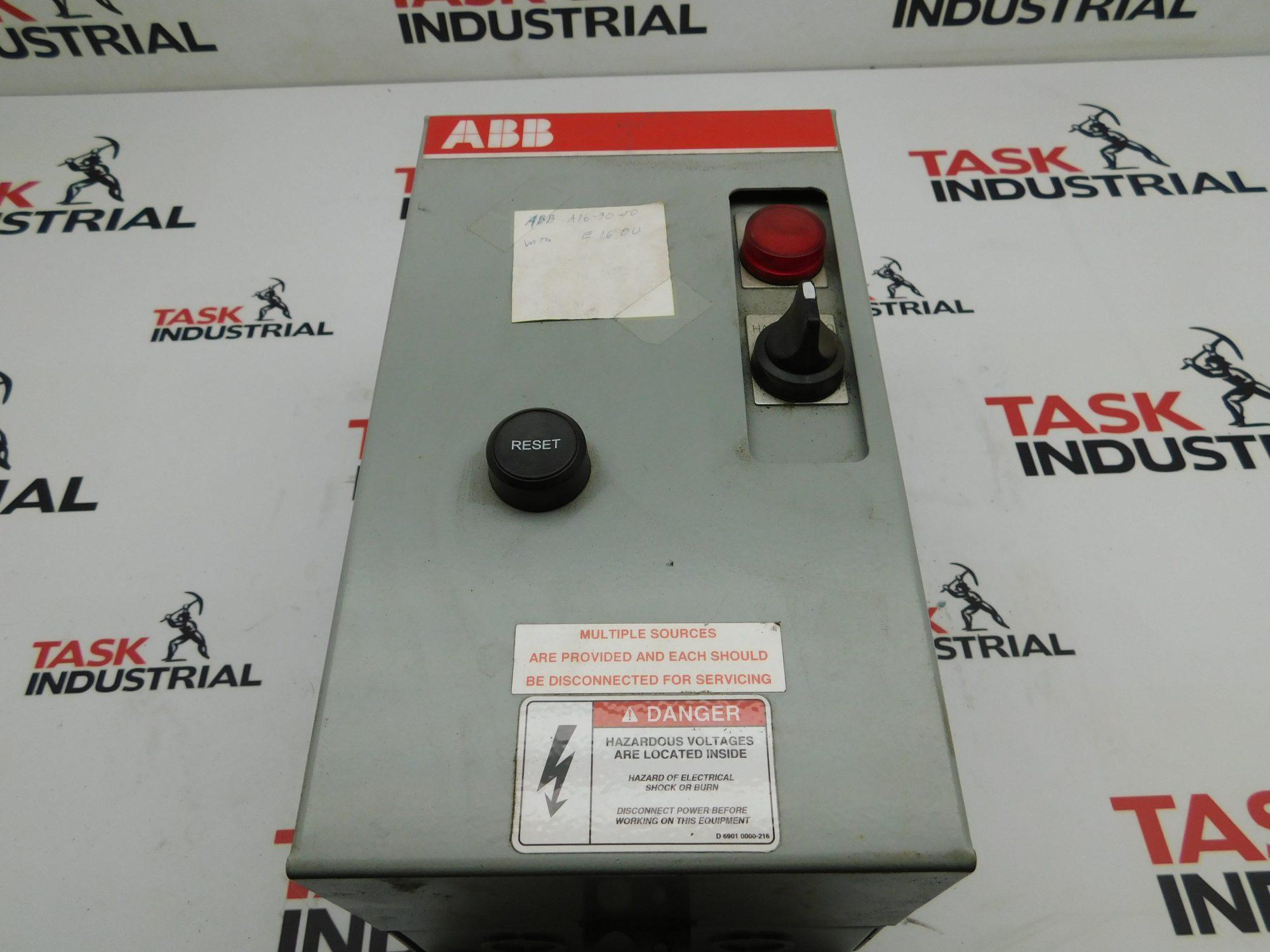 ABB K11-2E2J 60Hz Enclosure