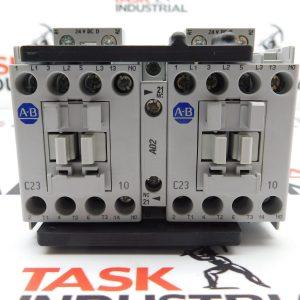 Allen-Bradley CAT No. 104-C23DJ22 Series D Reversing Contactor 24VDC