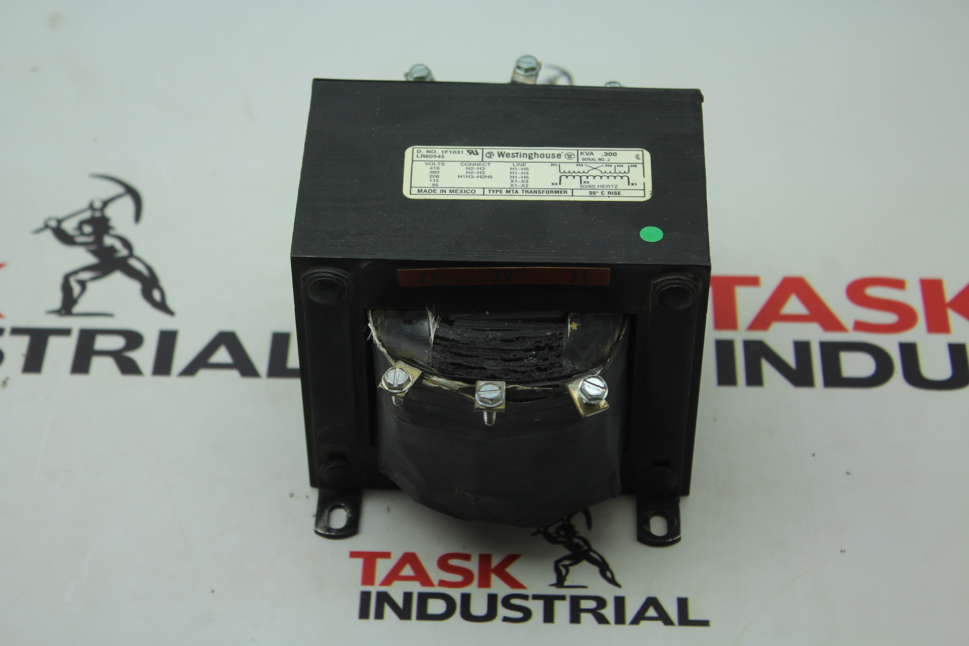 Westinghouse Transformer TYPE MTA LR60545 D. NO 1F1031