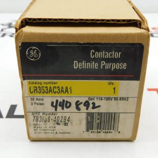 GE Contactor Definite Purpose CR353AC3AA1