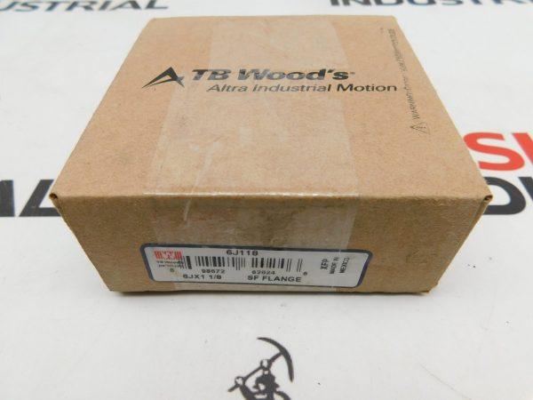 TB Wood's 6J118 6JX1 1/8 SF Flange