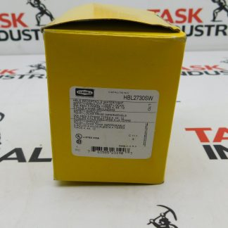 Hubbell CAT No. HBL2730SW Receptacle 30A 480V 3P 4W