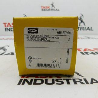 Hubbell CAT No. HB3765C Plug 50A 250VDC 600VAC 3P 4W