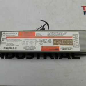Motorola M2-RN-T8-1LL-D-277 Electronic Ballast