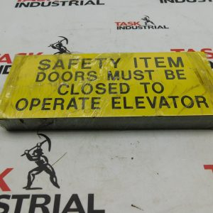 Safety Item Doors Must Be Closed To Operate Elevator, Lot of 20 Magnets