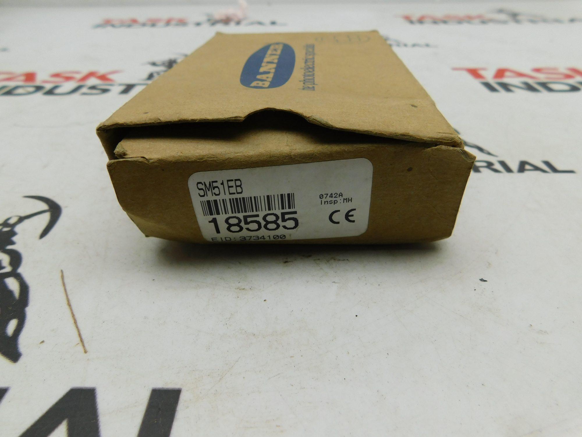 Banner 18585 SM51EB LED Scanner