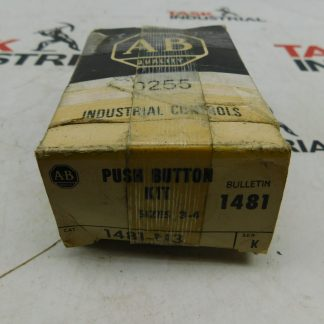 Allen-Bradley CAT No. 1481-N3 Series K Push Button Kit Sizes 3-4