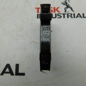 GE E-11592, 15A 1 Pole Circuit Breaker Lot of 2
