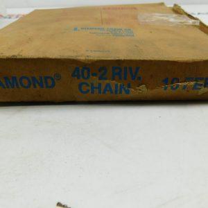 Diamond Riveted Chain 40-2 10 Fee