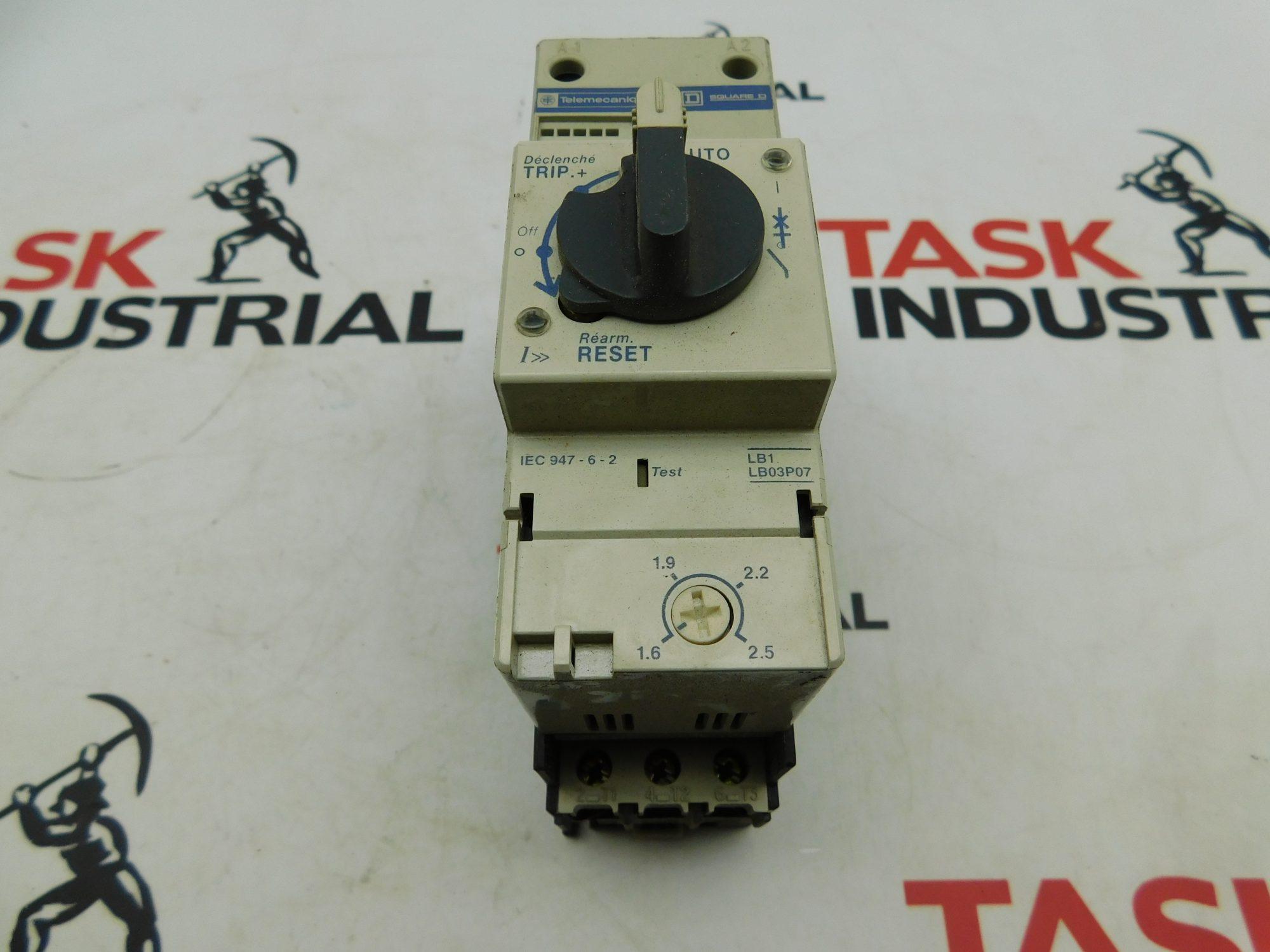 Telemecanique LD1 LB030 18A Telemecanique LD1 LB030 18A Starter W/ LB1 LB03P Starter W/ LB1 LB03P