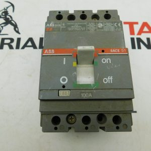 ABB E93565 3 Pole 277/480VAC 20A Type S1N Circuit Breaker