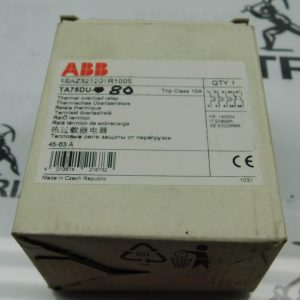 ABB 1SAZ321201R1006 TA75DU-80 Thermal Overload Relay