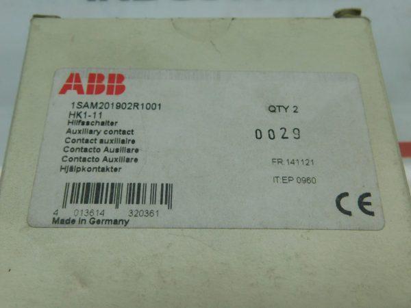 ABB 1SAM201902R1001 HK1-11 Auxiliary Contact