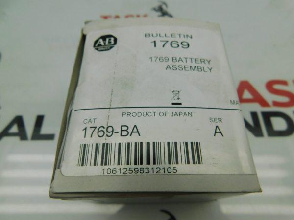 Allen-Bradley CAT No. 1769-BA Series A PLC Battery.