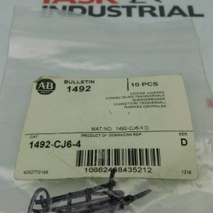 Allen-Bradley CAT No. 1492-CJ6-4 Series D Center Jumpers