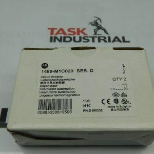 Allen-Bradley CAT No. 1489-M1C020 Series D Circuit Breaker