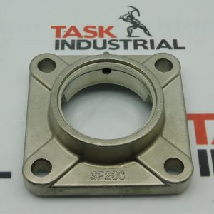 SF206 Stainless Steel 4-Bolt Flange Housing