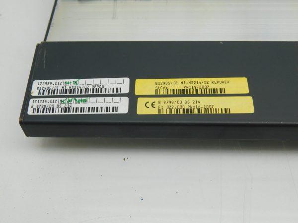 Bachmann PLC Chasis Base Board BS214