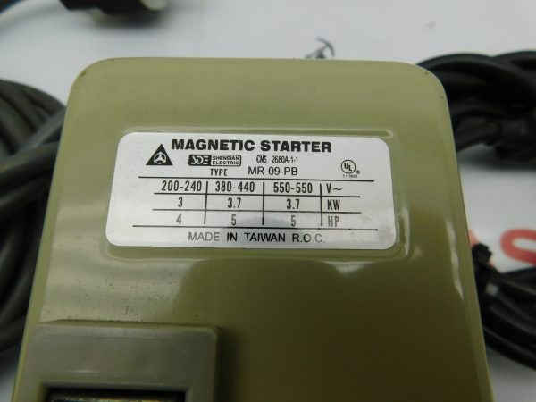 Shendian Electric Magnetic Starter MR-09-PB