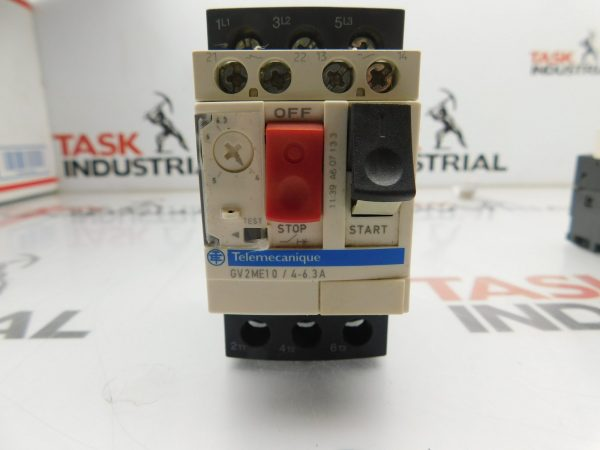 Telemecanique GV2ME10/4-6.3A Motor Starter