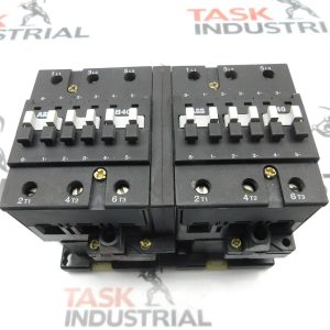 ABB 3P B40 & B40C-* Mechanically Interlocked Contactors 110-120V Coil