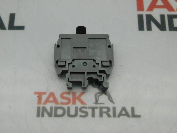 Entrelec Fuse Block Holder Din Rail Mount With Indicator Light Lot of 5