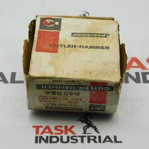 Cutler-Hammer D40RBA Powereed Type R Reed Relay Series 120 V 50-400 HZ